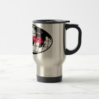 Practice Safe Mapping, Always Use Proj... Stainless Steel Travel Mug