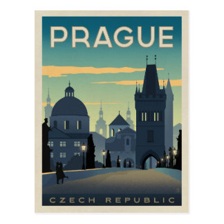 Prague, Czech Republic Postcard