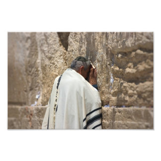 Prayer at the Wailing Wall Art Photo