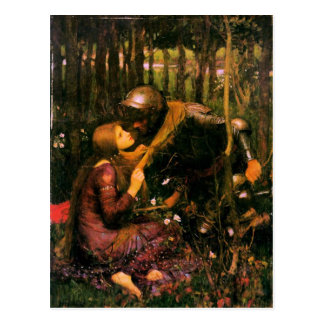 Pre-Raphaelite Postcard By John William Waterhouse