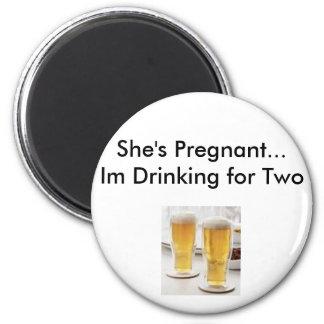 pregnancy excuses 6 cm round magnet
