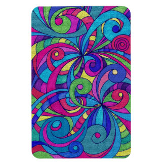 Premium Flexi Magnet Floral abstract background