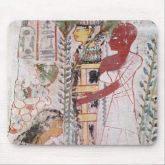Preparing a mummy for a purification ceremony mouse pad