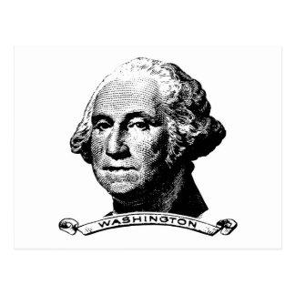 President George Washington Postcard