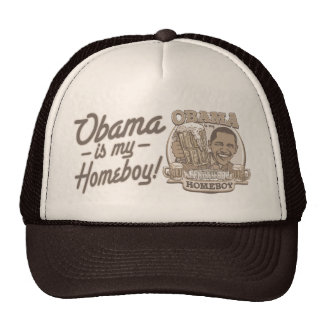 President Obama Homeboy Beer Gifts Cap