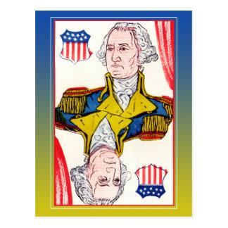 President of Shields - George Washington Postcard