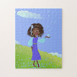 Pretty African Princess Puzzle