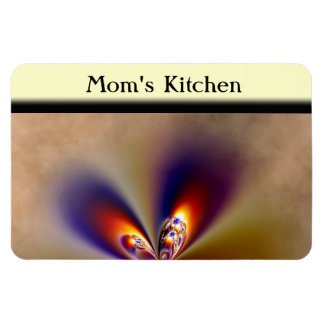 Pretty Butterfly Wings Rectangular Photo Magnet