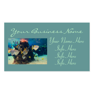 Pretty Colorful  Fish Aquarium Pack Of Standard Business Cards