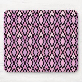 Pretty Pink & Lilac Diamonds Mouse Pad