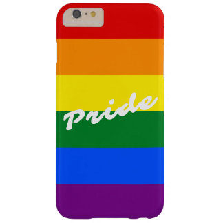 Pride Logo LGBT 6-Stripe Rainbow Gay Pride Flag Barely There iPhone 6 Plus Case