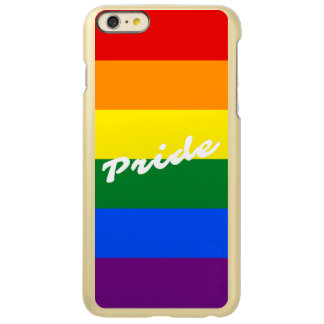 Pride Logo LGBT 6-Stripe Rainbow Gay Pride Flag iPhone 6 Plus Case