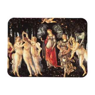 Primavera / Allegory of Spring by Botticelli Rectangular Photo Magnet