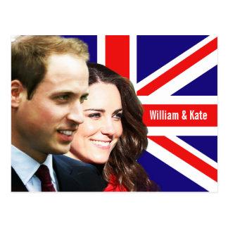 Prince William & Kate Postcard