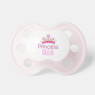 Princess Crown (personalised) Booginhead Pacifier