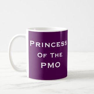 Princess PMO Woman Project Manager Funny Name Basic White Mug