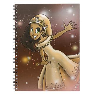 """Princess Priya"" Spiral Notebooks"