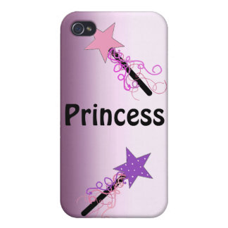 Princess with Magic Wands Cases For iPhone 4