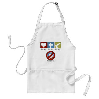 Princples Against Obama Standard Apron