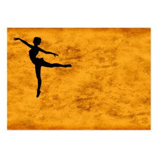 PRIVATE DANCER (silhouette - modern dance) ~ Pack Of Chubby Business Cards