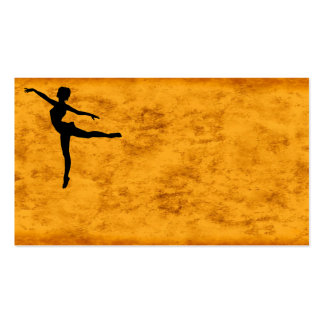 PRIVATE DANCER (silhouette - modern dance) ~ Pack Of Standard Business Cards