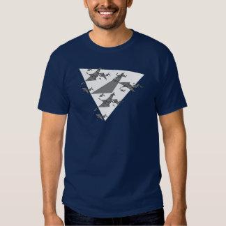 Programmer Algorithmic Triangle T-shirt Generator