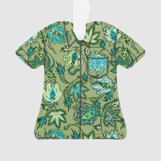 Protea Batik Hawaiian Tropical Floral Aloha Shirt