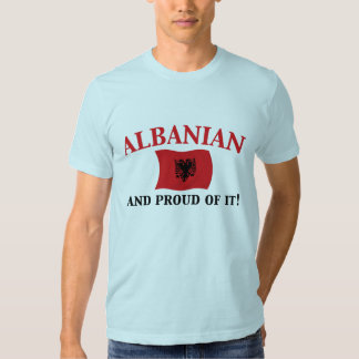Proud Albanian Tee Shirt