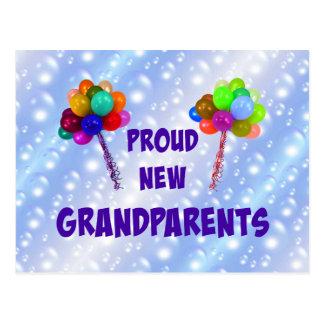Proud New Grandparents Postcard