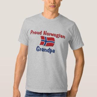 Proud Norwegian Grandpa Tshirts