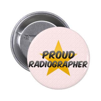 Proud Radiographer 6 Cm Round Badge