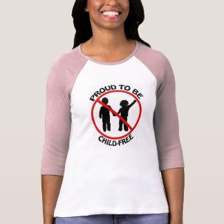 Proud to Be Child-Free Shirt