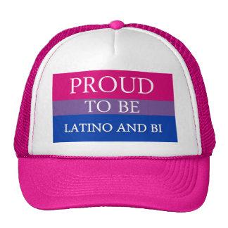 Proud To Be Latino and Bi Cap