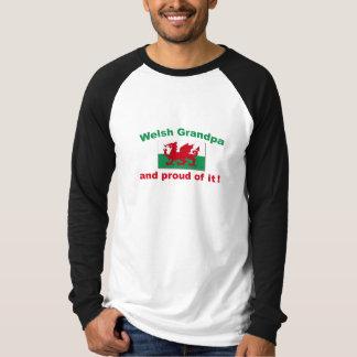 Proud Welsh Grandpa T Shirt