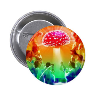 Psychedelic-Heaven 6 Cm Round Badge