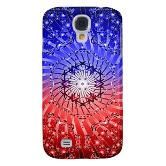 Psychedelic Kaleidoscope Spiral: Galaxy S4 Case