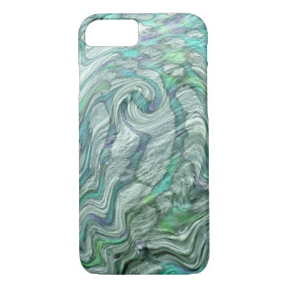 psychedelic water surface tie-dye iPhone 7 case