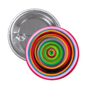 Psychedelic Wormhole 3 Cm Round Badge