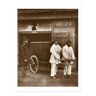 Public Disinfectors, from 'Street Life in London', Postcard