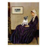 Pug 18 (fawn) - Whistlers Mother Poster