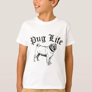 Pug Life Funny Dog Gangster Tshirt