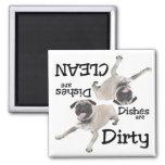 Pug Lovers Dishwasher Magnet