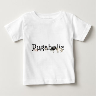 Pugaholic Infant Cotton Jersey T-Shirt