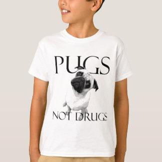 Pugs Not Drugs T Shirt