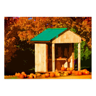 Pumpkins for Sale ATC Pack Of Chubby Business Cards