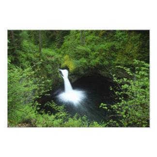 Punchbowl Falls on Eagle Creek, Columbia River Photo Print