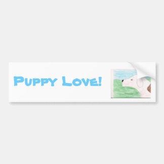 Puppy Love! Bumper Sticker