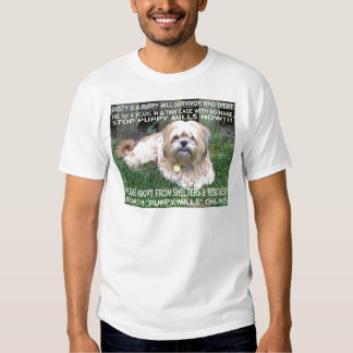 Puppy Mill Survivor - Give Mill Dogs a 2nd Chance! T Shirt