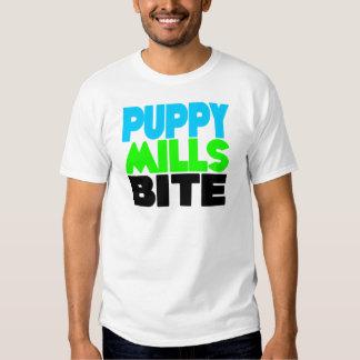 Puppy Mills Bite! Stop Puppy Mills! Tee Shirt