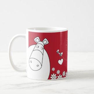Pure Impossimals® - Romantic Red Basic White Mug